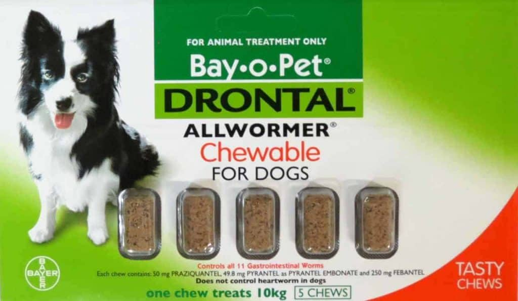Drontal Dog Deworming Tablets