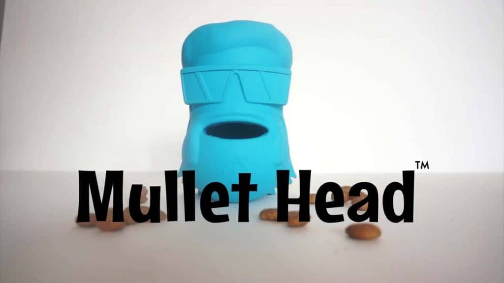 Lord Anson Mullet Head - dog toys for separation anxiety