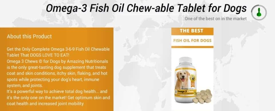 omega-3 fatty acid chews