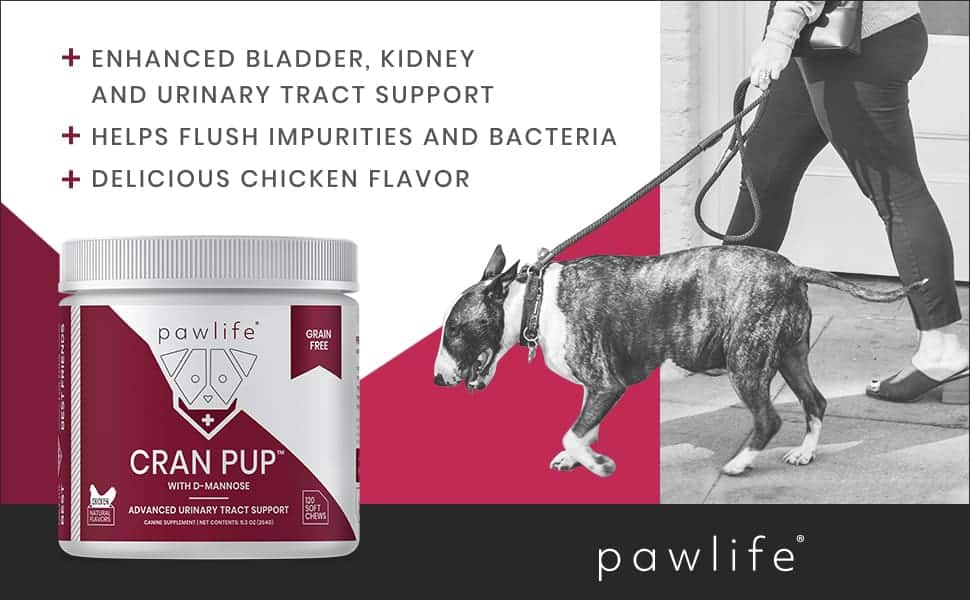 pawlife - UTI and Bladder Support for Dogs