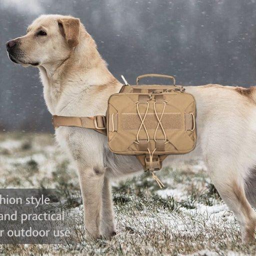 Dog Saddle Bag Backpack