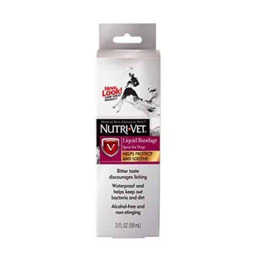 Nutri-Vet Liquid Bandage Spray for Dogs