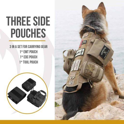 Tactical Dog Molle Vest Harness