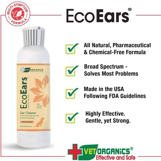 organics EcoEars Natural Dog Ear Cleaner
